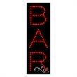 Economy LED Sign - Bar - Economy LED Sign - Bar.