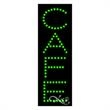 Economy LED Sign - Cafe - Economy LED Sign - Cafe.