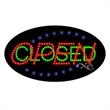 Flashing LED Sign - Open Closed - Flashing LED Sign - Open Closed.