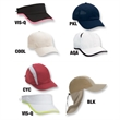 Runner's High Performance Caps - Sample pack of 7 runner's high performance caps and visors. Blank