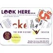 Coupon Holder - Vinyl coupon holder with 2 pockets and magnetic strip backing.