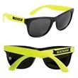 Custom Neon Retro Sunglasses - Custom Neon Retro Sunglasses