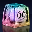Light up ice cube - Push-button activated light up multicolor ice cube, 60 day production.