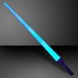 Blue LED expandable flashing swords