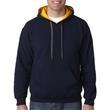 Gildan (R) Heavy Blend (TM) Adult Contrast Hooded Sweatshirt - Gildan Heavy Blend Adult Contrast Hooded Sweatshirt