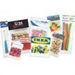 1 oz Animal Crackers / Header Bag - 1 oz animal crackers in a header bag.