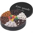 Star Deluxe Treat Tin - Small gold 7-way tin with a variety of treats.