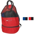 Beach backpack with cooler - Beach backpack with cooler made of 600 denier ripstop polyester.