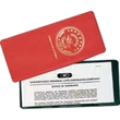 All Clear U Style Lottery Ticket /Insurance Card Holder - All clear U style lottery ticket/insurance card holder has one pocket.