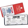 All Clear U Style Lottery Ticket/Insurance Card Holder - All clear lottery ticket/insurance card holder, fits PA registration card.
