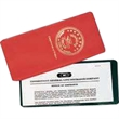 I Style Lottery Ticket / Insurance Card Holder - I-style lottery ticket/insurance card holder has one full clear pocket.