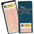 I Style Lottery Ticket / Insurance Card Holder - All clear I style insurance card/lottery ticket holder with extra pocket.