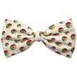 Polyester Bow Tie - Custom polyester bow tie.  Pre-tied or untied.  No set-ups.  Free artwork presentation.