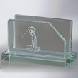Volant Glass Business Card Holder