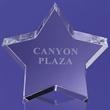 McColgan Star Glass Paperweight