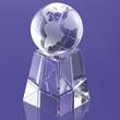 "Globe on Pedestal Award 6 1/2"""