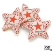 Star Picture Cookies - Star sugar cookies dipped in Belgian chocoalte with edible image & custom sprinkles