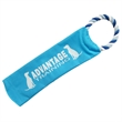 Crunchy Fun Dog Toy - Toy sleeve that has room to insert an empty water bottle for crunching sound filled fun with pets and attached ring for tug-o-war.