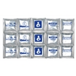 """Reusable, Soft Ice Mat gel pack style -Large 6X10"""" USA MADE - Reusable-Soft Ice Mat Large 6"""" x 10"""" using SAFE Purified Water Bends when frozen"""