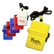 "4.5"" square beach safe - 4.5"" waterproof capsule with a square shape that helps keep money or valuables dry."