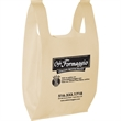 T-Shirt Non Woven Bags - 60 GSM t-shirt non woven polypropylene gags that contain 20% recycled content.