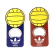 Volleyball shape magnetic bottle opener