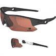 Python Glasses - Sunglasses with half frame design and wrap around high definition lens.