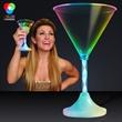 Light Up Martini Drinking Glass