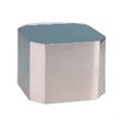 Medium Silver Cube Base