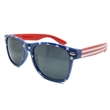 American Flag Sunglasses - Sunglasses with an American flag design.