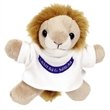 "3"" Lion Magnet with T-Shirt and One Color Imprint"