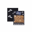 """Small Billboard Header Bag with Dry Roasted Peanuts - Dry roasted peanuts in a small billboard header bag. 3""""W x 4""""H."""