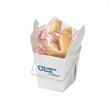 Fortune Cookies In Carry Out Container - Customizable Chinese food carry out containers with 2 fortune cookies inside
