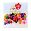 Gourmet Jelly Beans (Choose Your Colors) / Header Bag - Customizable clear header bag filled with colorful gourmet jelly beans, 2 oz.