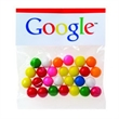 2 oz Gumballs / Header Bag - Customizable clear header bag filled with gumballs, 2 oz.