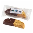 Large Chocolate Dipped Biscotti - Individually wrapped chocolate dipped biscotti