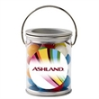 Paint Cans / Gumballs - Small paint can shaped container filled with gumballs