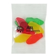 Promo Snax Bags Swedish Fish® (Small Assorted) - Clear cellophane bag filled with assorted flavors of small Swedish Fish®