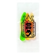 Promo Snax Bags Gummy Worms - Clear cellophane bag filled with gummy worms