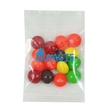 Promo Snax Bags Skittles® - Clear cellophane bag filled with an assortment of Skittles® candies