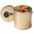 Gallon Tin with Jelly Beans - Jelly beans in a gallon tin with handle.
