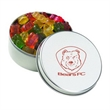 Large Round Tin / Gummy Bears - Large round tin with lid filled with gummy bears