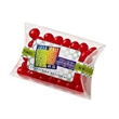 Pillow Case Candy Container / Red Hots® - Pillow case shaped container filled with cinnamon flavored Red Hots®