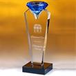 """Akron Blue Diamond Award  10"""""""