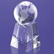 "Lilly Globe on Pedestal Award 8"""