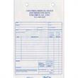 "Register forms - 2-part register forms for service, 5 3/8"" x 8 1/2""."