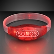Sound Activated Light Up Red LED Flashing Bracelets