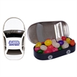 Car Tin with Jelly Beans Candy - Car shaped candy tin with jelly beans candy.