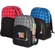 Harper Plaid Backpack-IMP