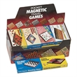Magnetic Travel Games (24 assorted) - Set of 24 assorted magnetic travel games. Fun for the whole family.